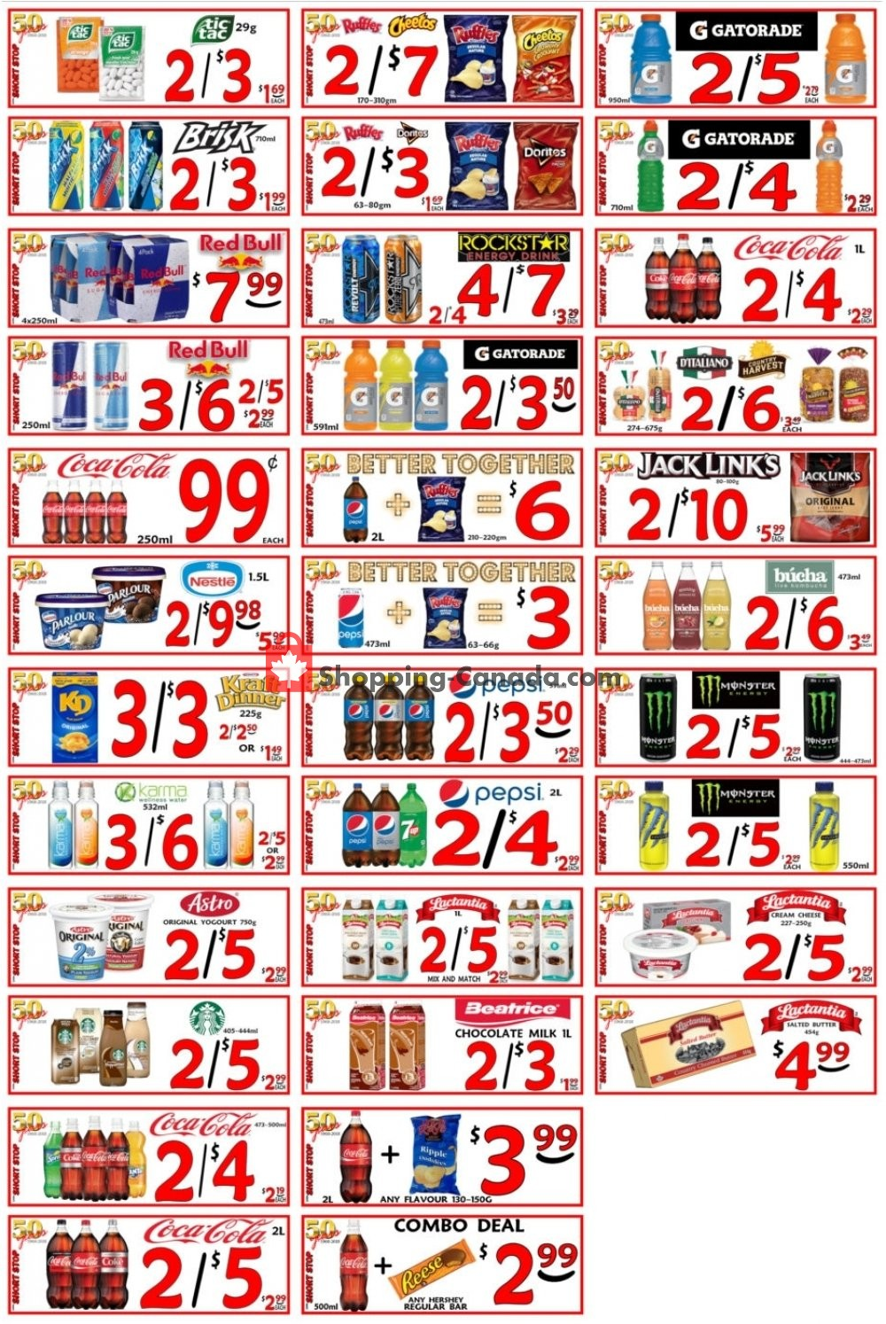 Flyer Little Short Stop Stores Canada - from Wednesday October 2, 2019 to Tuesday October 8, 2019