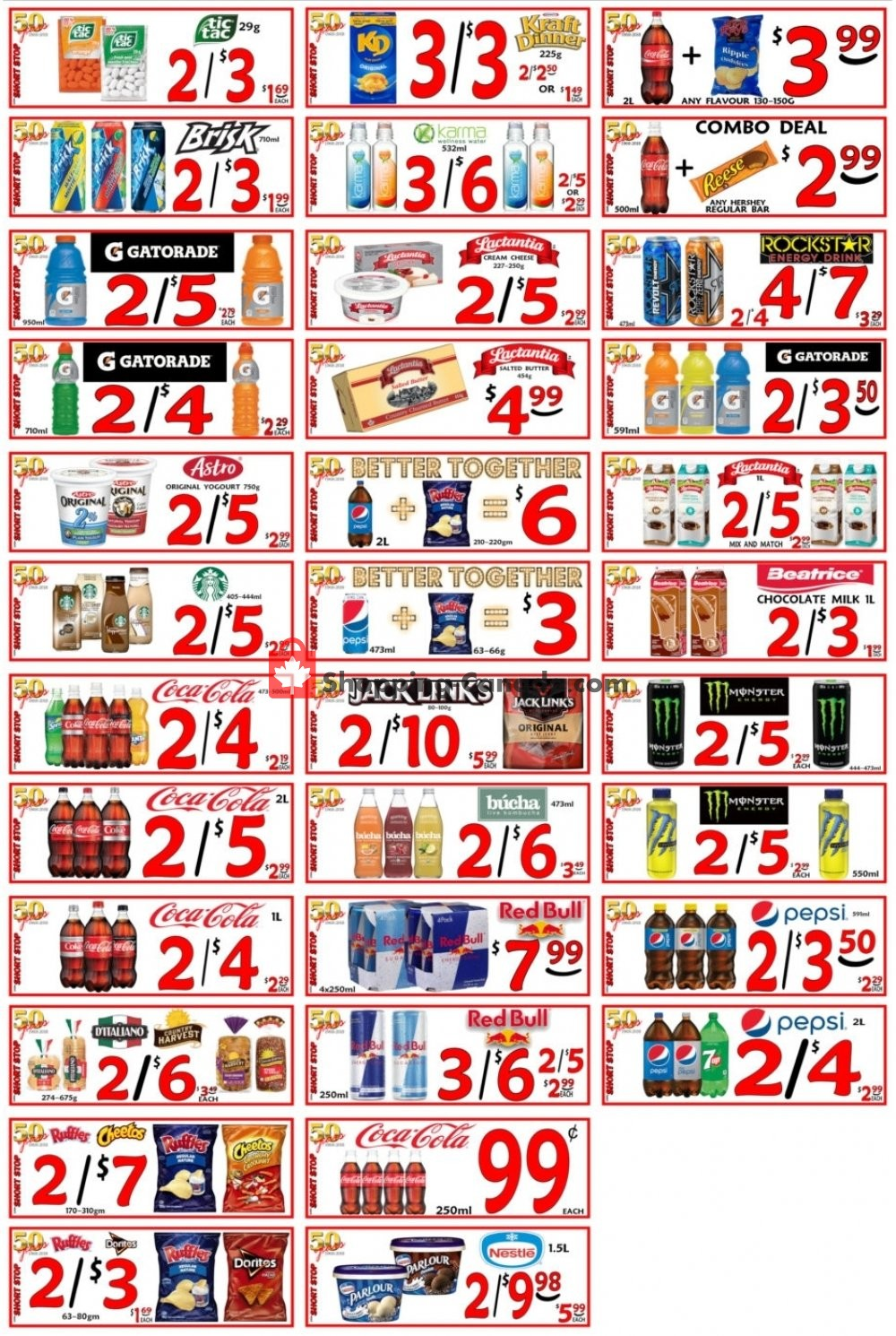 Flyer Little Short Stop Stores Canada - from Thursday October 3, 2019 to Wednesday October 9, 2019