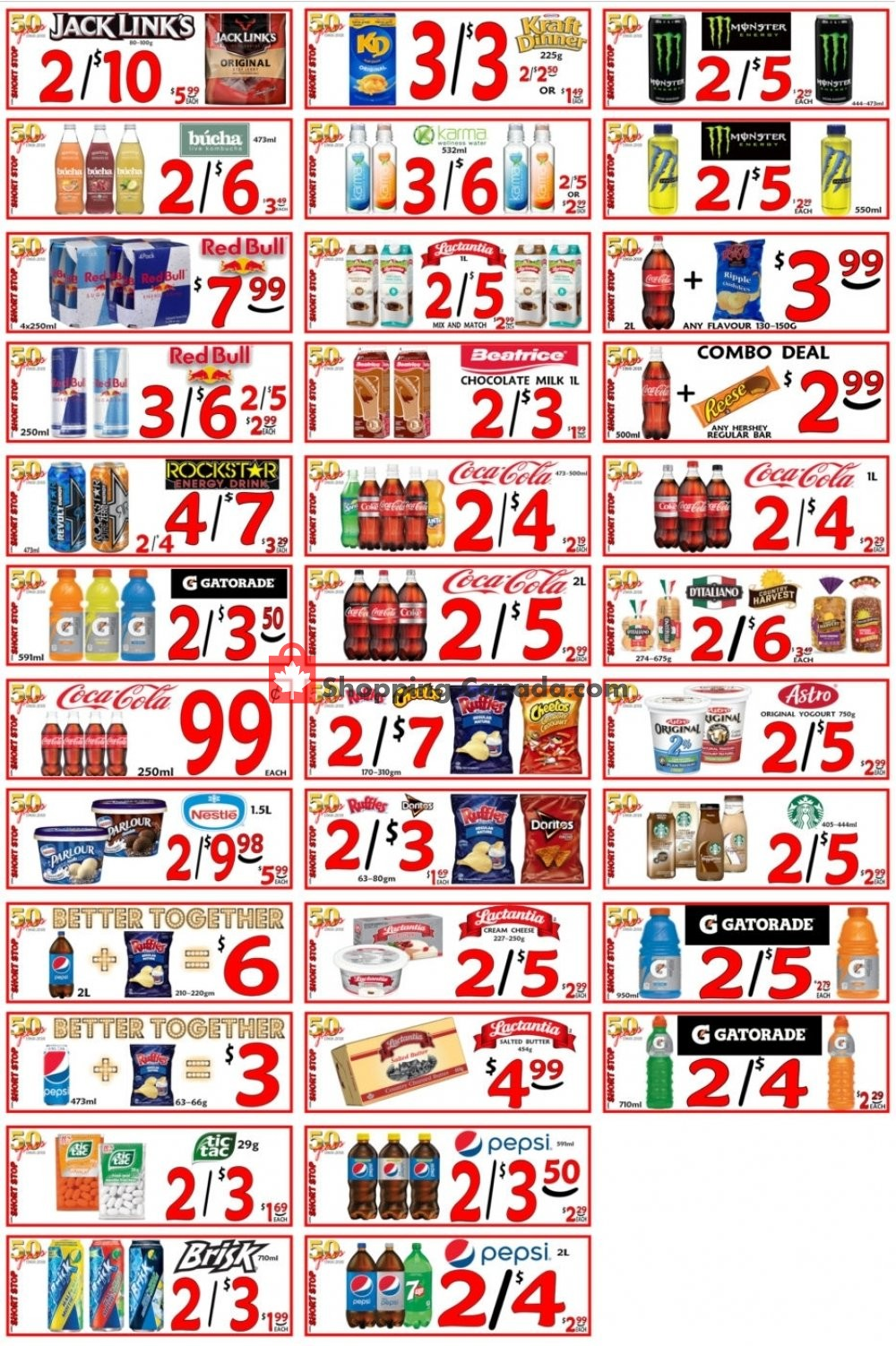 Flyer Little Short Stop Stores Canada - from Friday October 4, 2019 to Thursday October 10, 2019