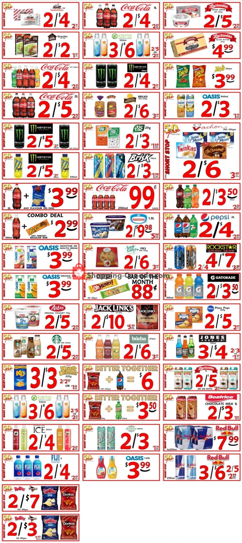 Flyer Little Short Stop Stores Canada - from Tuesday October 8, 2019 to Monday October 14, 2019
