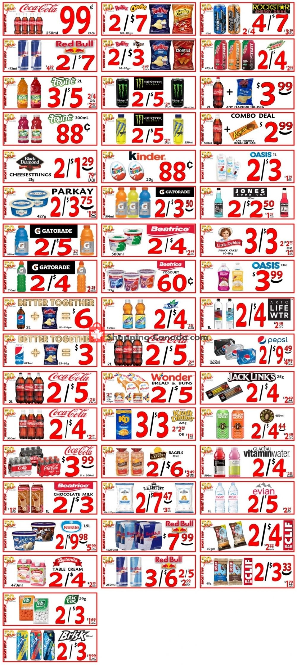 Flyer Little Short Stop Stores Canada - from Wednesday September 11, 2019 to Tuesday September 17, 2019