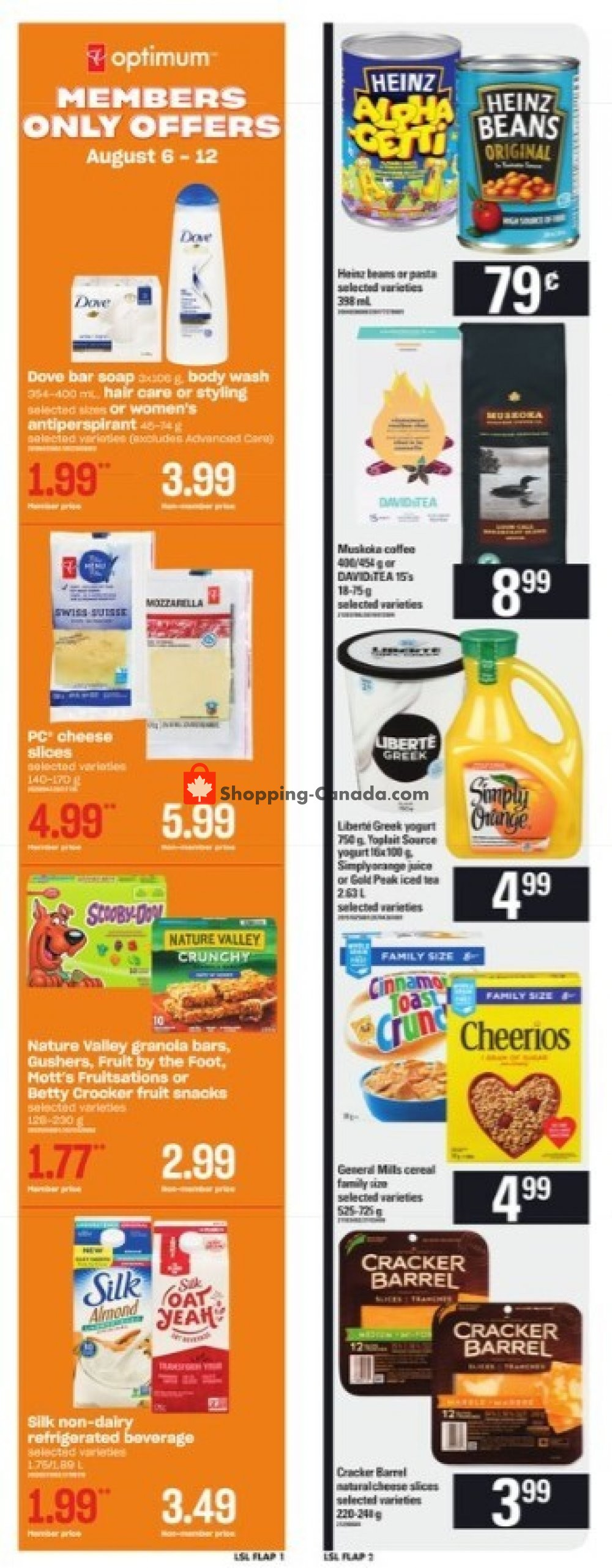 Flyer Loblaws Canada - from Thursday August 6, 2020 to Wednesday August 12, 2020