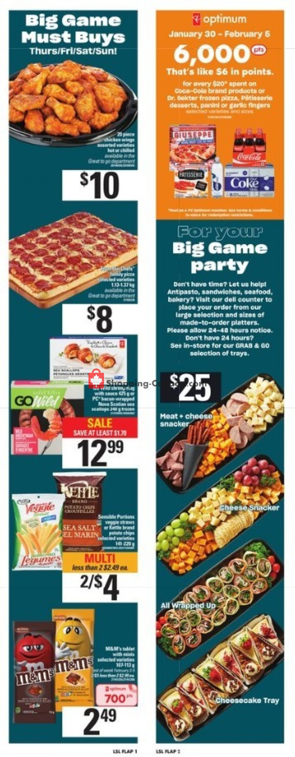 Flyer Loblaws Canada - from Thursday January 30, 2020 to Wednesday February 5, 2020