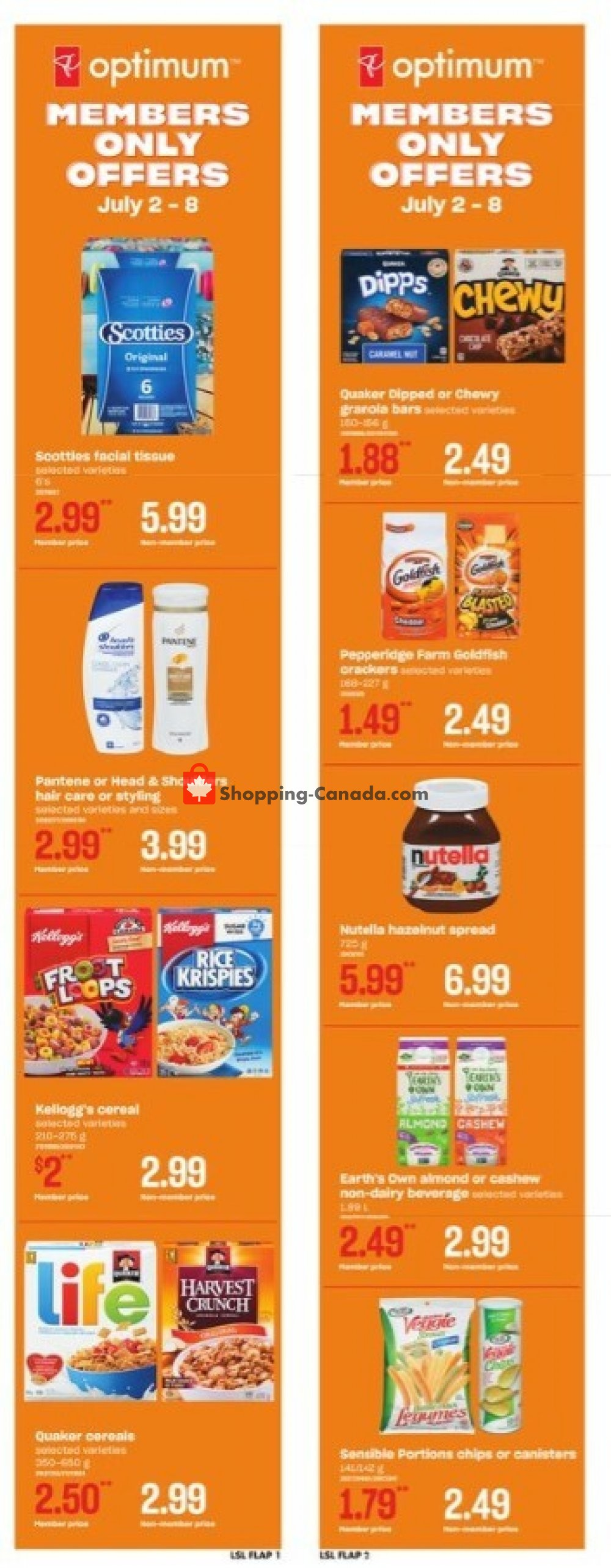 Flyer Loblaws Canada - from Thursday July 2, 2020 to Wednesday July 8, 2020
