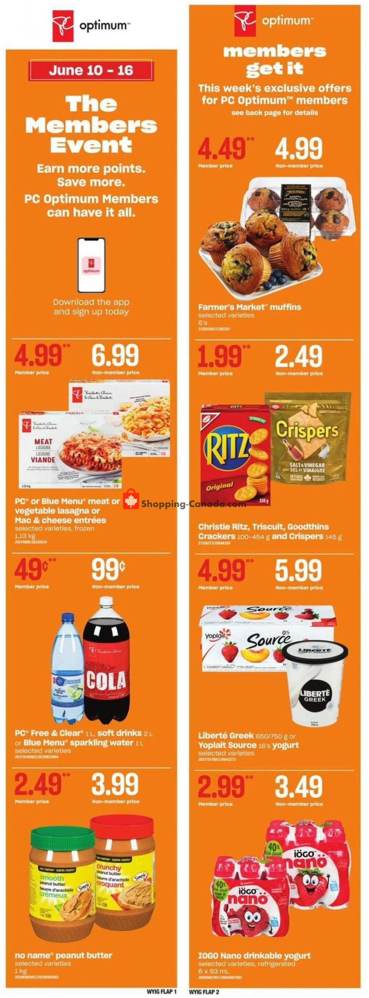 Flyer Loblaws Canada - from Thursday June 10, 2021 to Wednesday June 16, 2021