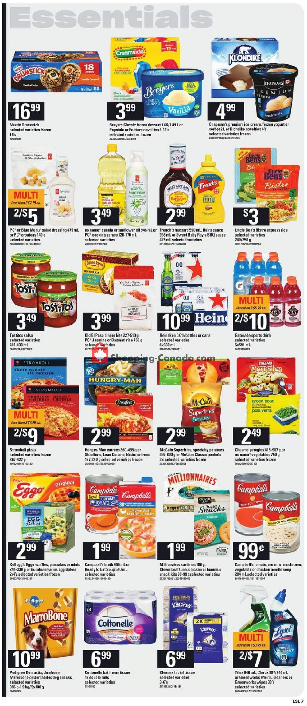 Flyer Loblaws Canada - from Thursday July 11, 2019 to Wednesday July 17, 2019