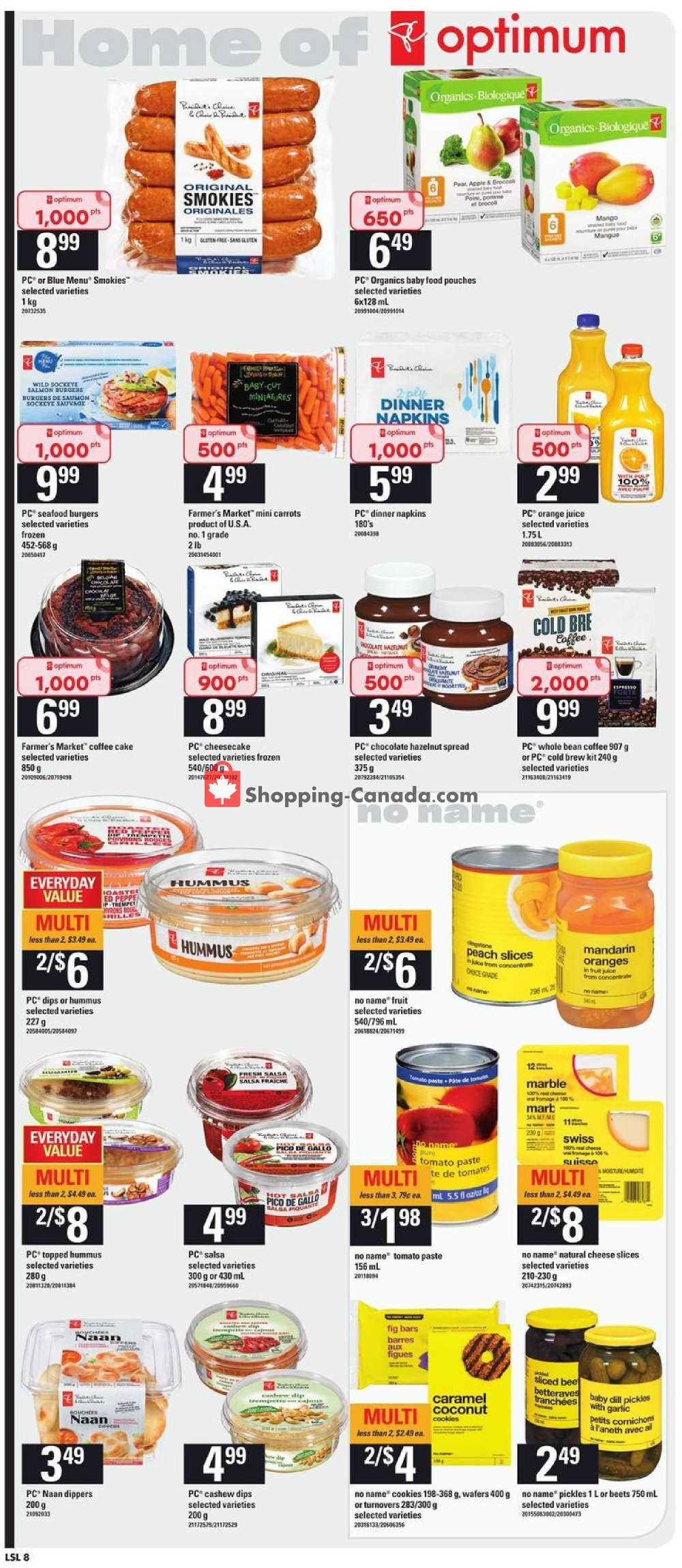 Flyer Loblaws Canada - from Thursday July 25, 2019 to Wednesday July 31, 2019