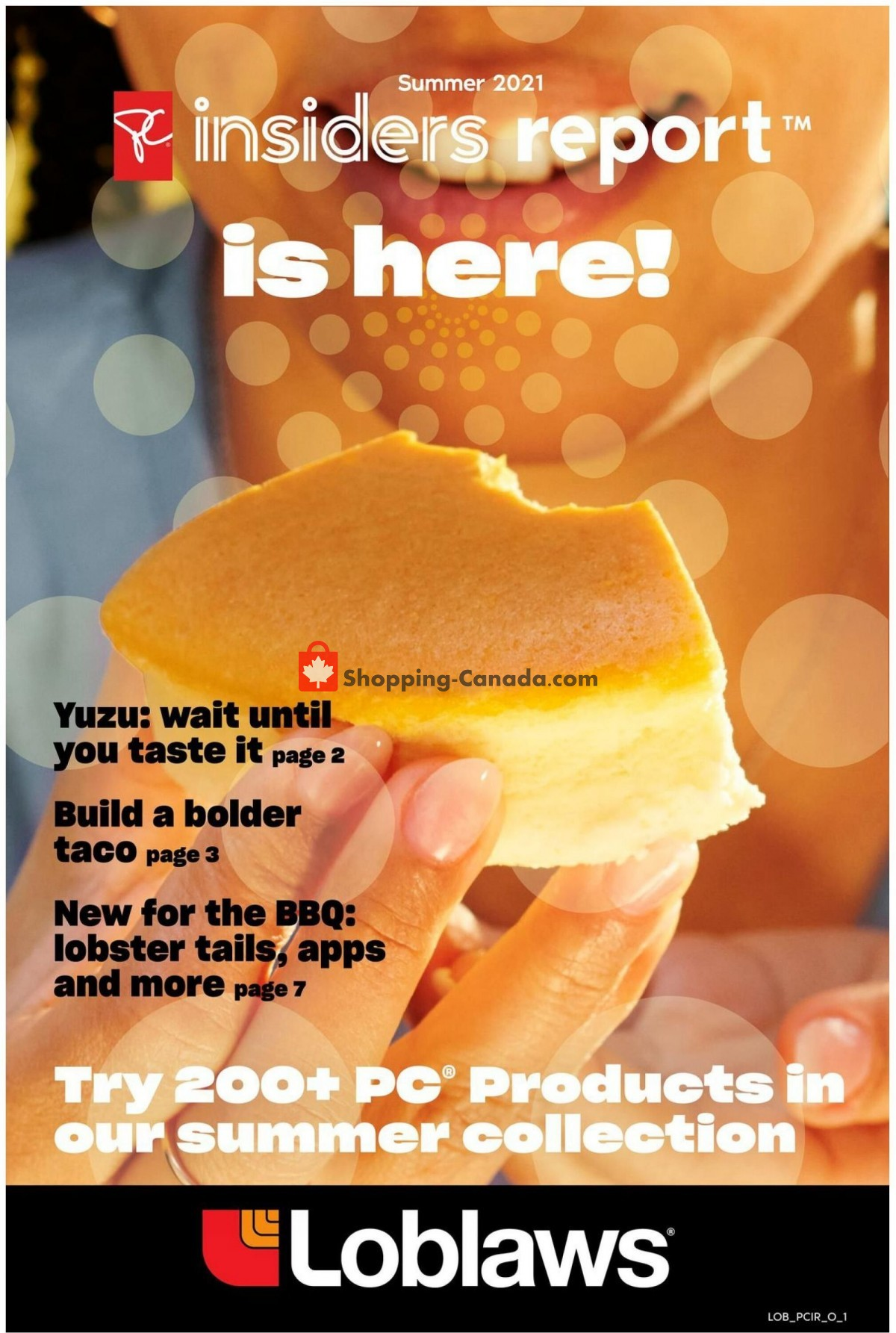 Flyer Loblaws Canada - from Thursday May 20, 2021 to Wednesday July 14, 2021