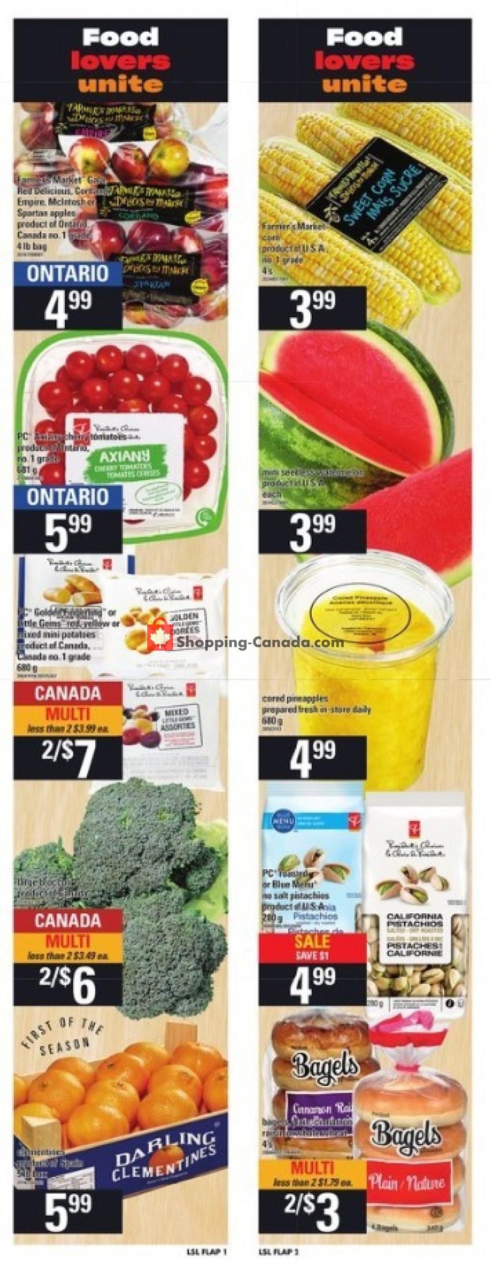 Flyer Loblaws Canada - from Thursday November 7, 2019 to Wednesday November 13, 2019