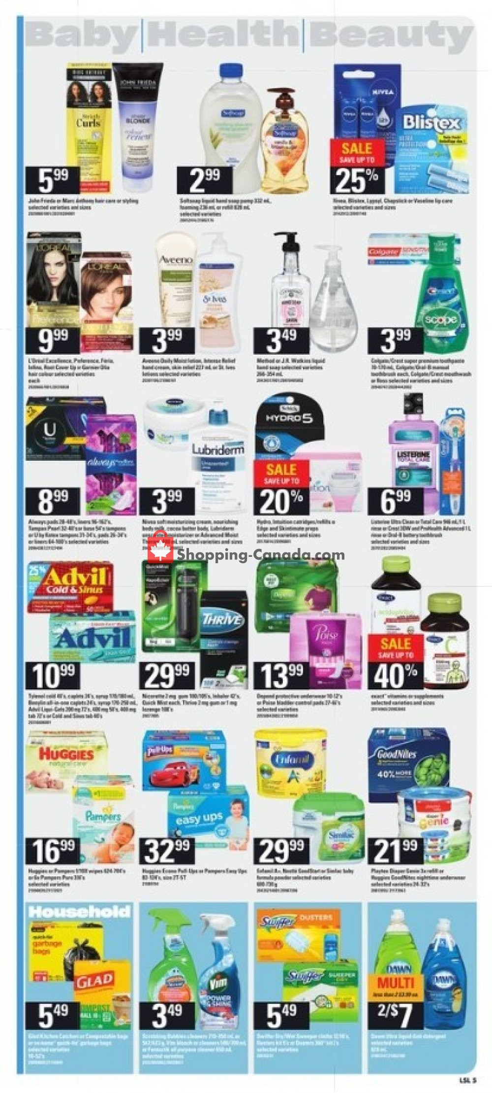 Flyer Loblaws Canada - from Thursday November 7, 2019 to Wednesday November 13, 2019