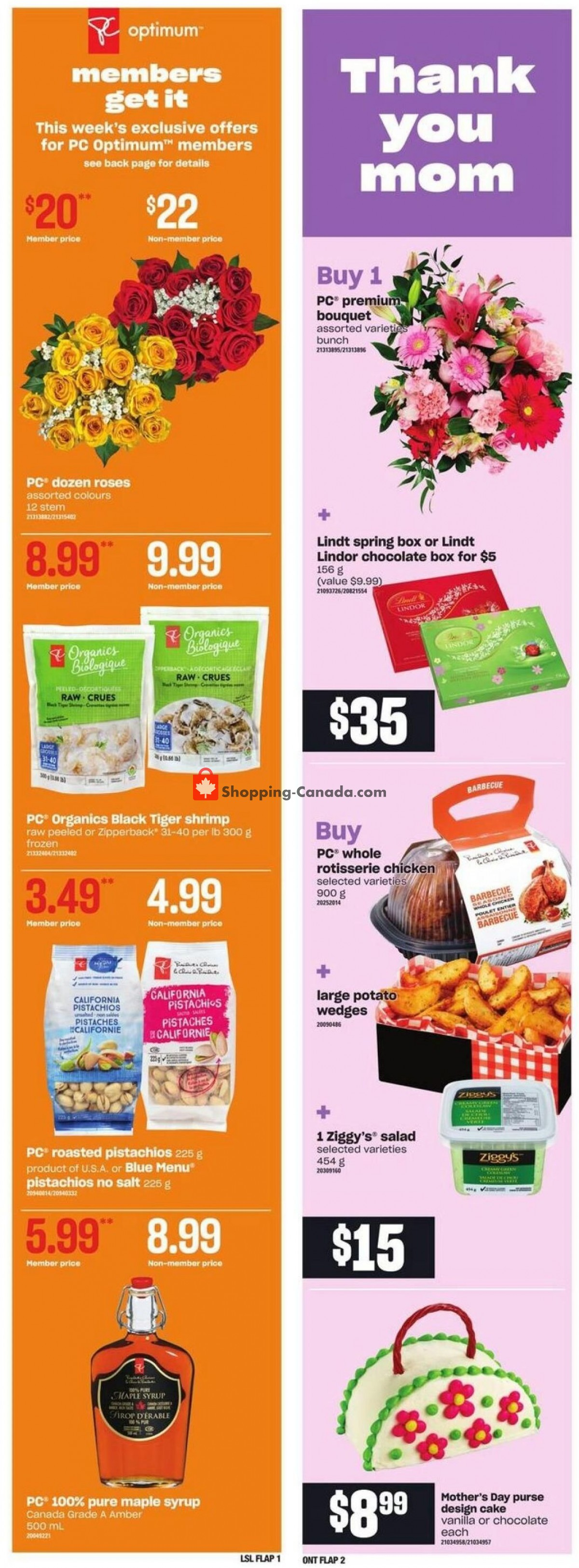 Flyer Loblaws Canada - from Thursday May 6, 2021 to Wednesday May 12, 2021