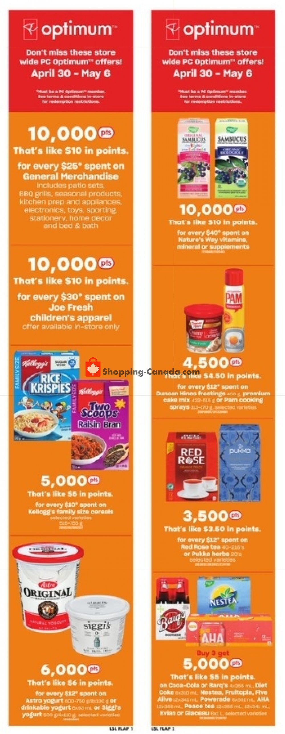 Flyer Loblaws Canada - from Thursday April 30, 2020 to Wednesday May 6, 2020