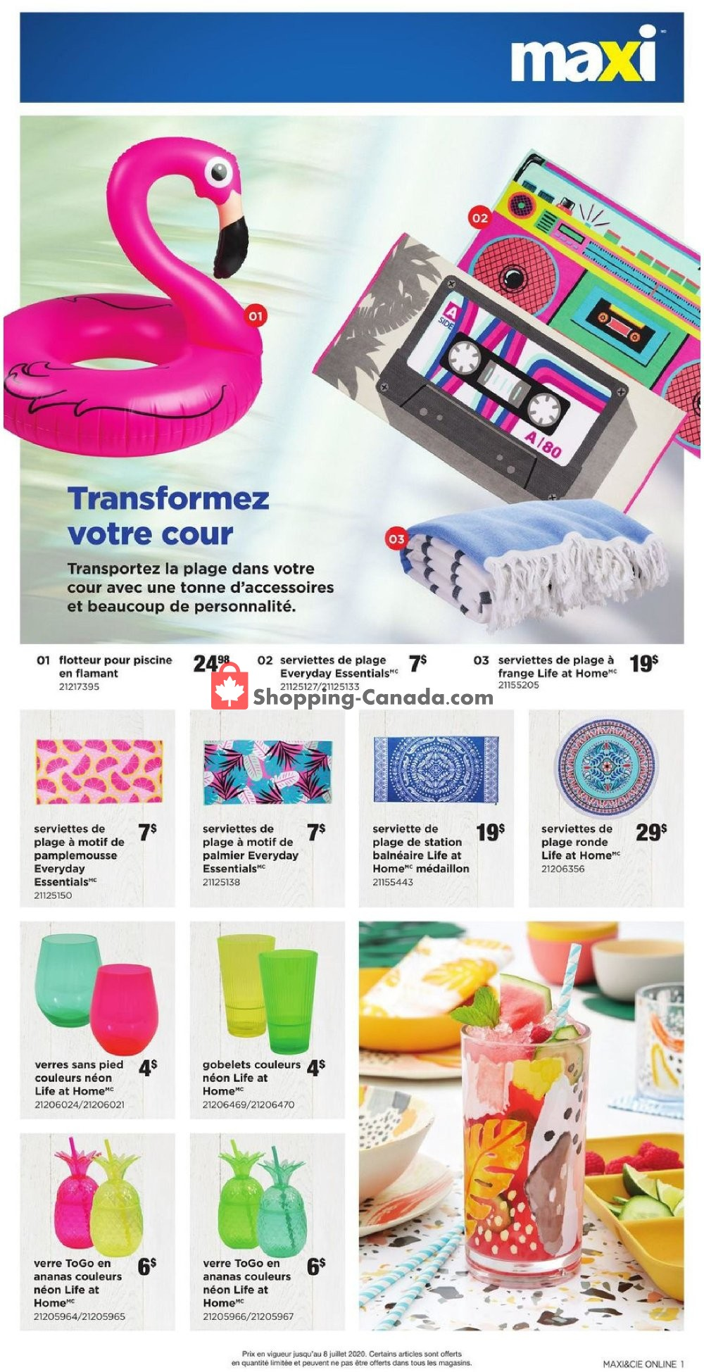 Flyer Loblaws Canada - from Thursday June 4, 2020 to Wednesday July 8, 2020