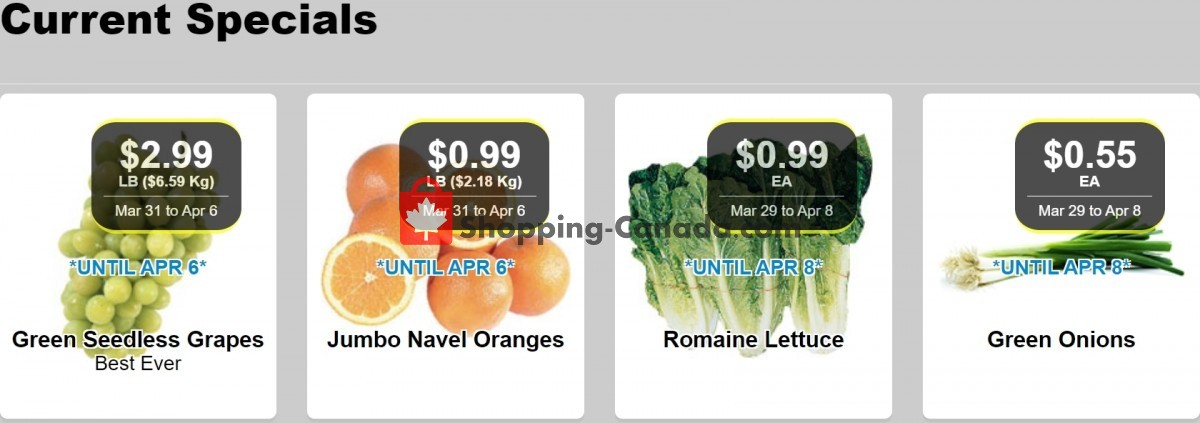 Flyer Lococo's Canada - from Wednesday March 31, 2021 to Thursday April 8, 2021