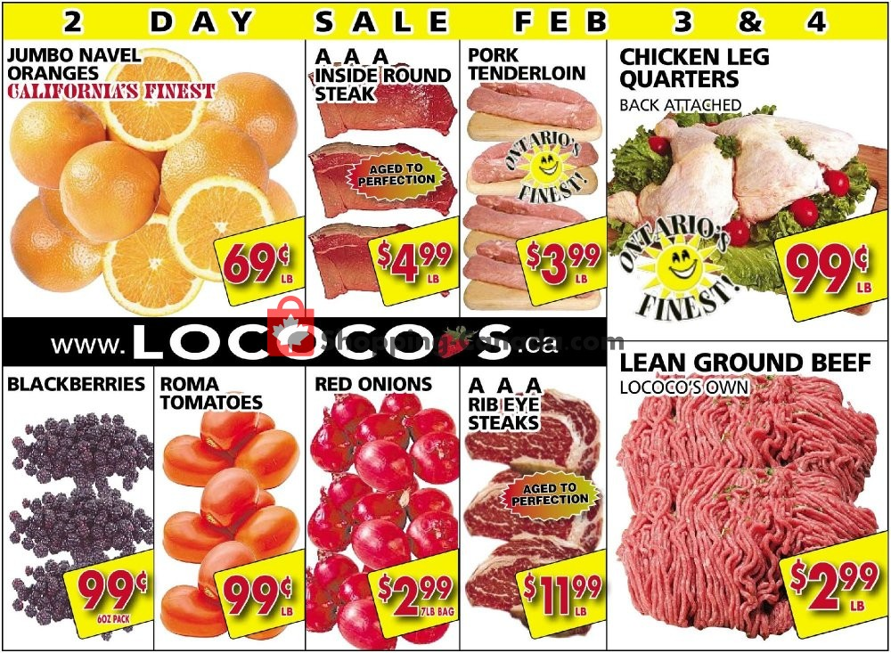 Flyer Lococo's Canada - from Monday February 3, 2020 to Tuesday February 4, 2020
