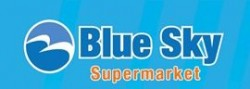 Blue Sky Supermarket logo