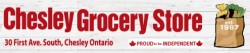 Chesley Grocery Store logo