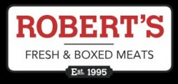 Robert's Fresh and Boxed Meats logo