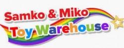 Samko and Miko Toy Warehouse logo