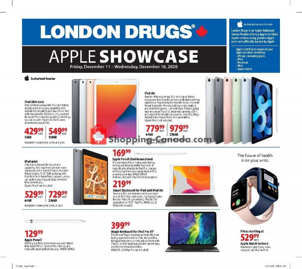 Flyer London Drugs Canada - from Friday December 11, 2020 to Wednesday December 16, 2020
