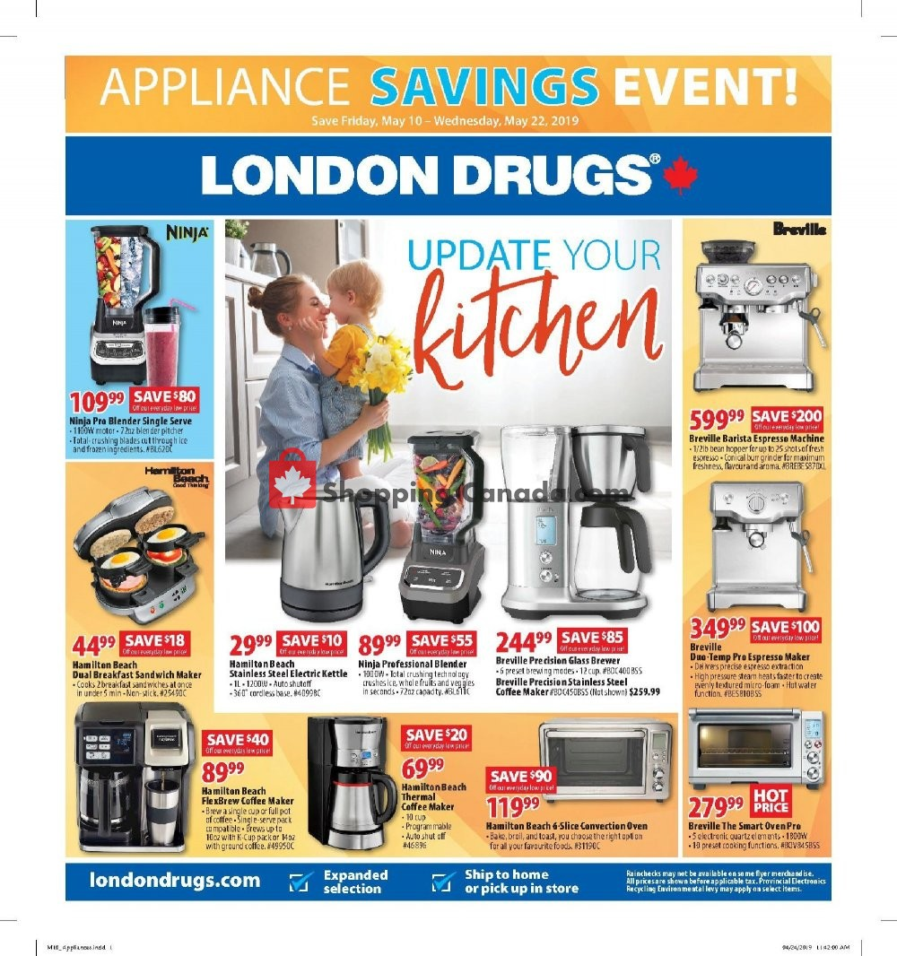 Flyer London Drugs Canada - from Friday May 10, 2019 to Wednesday May 22, 2019