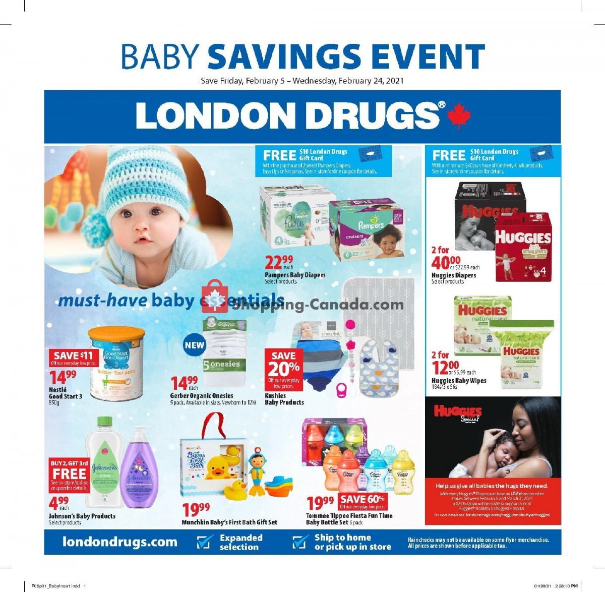 Flyer London Drugs Canada - from Friday February 5, 2021 to Wednesday February 24, 2021