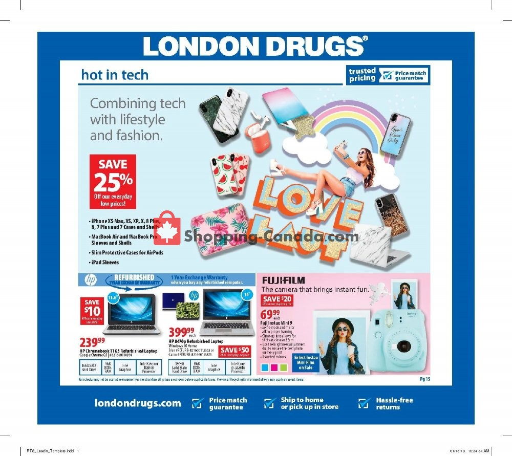 Flyer London Drugs Canada - from Friday February 1, 2019 to Wednesday February 6, 2019