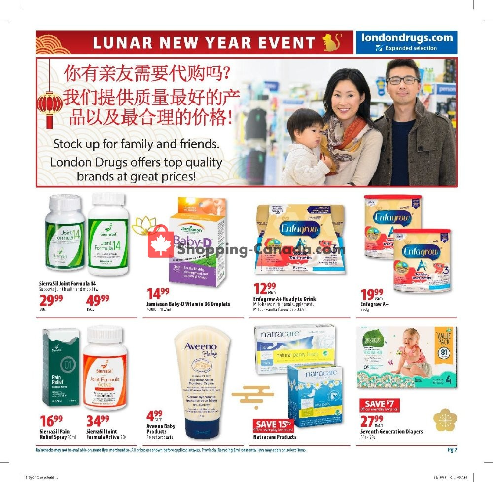 Flyer London Drugs Canada - from Friday January 10, 2020 to Sunday February 2, 2020