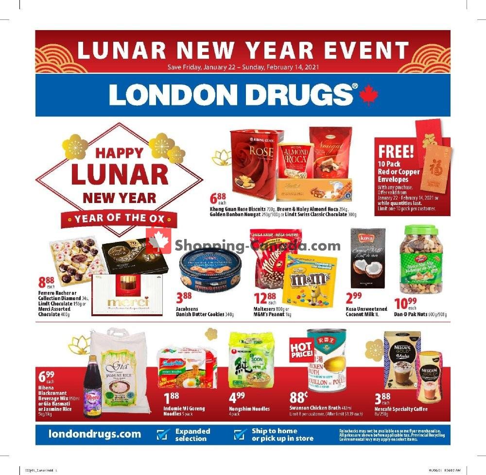 Flyer London Drugs Canada - from Friday January 22, 2021 to Sunday February 14, 2021
