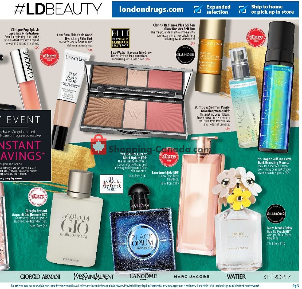 Flyer London Drugs Canada - from Thursday November 7, 2019 to Sunday November 17, 2019