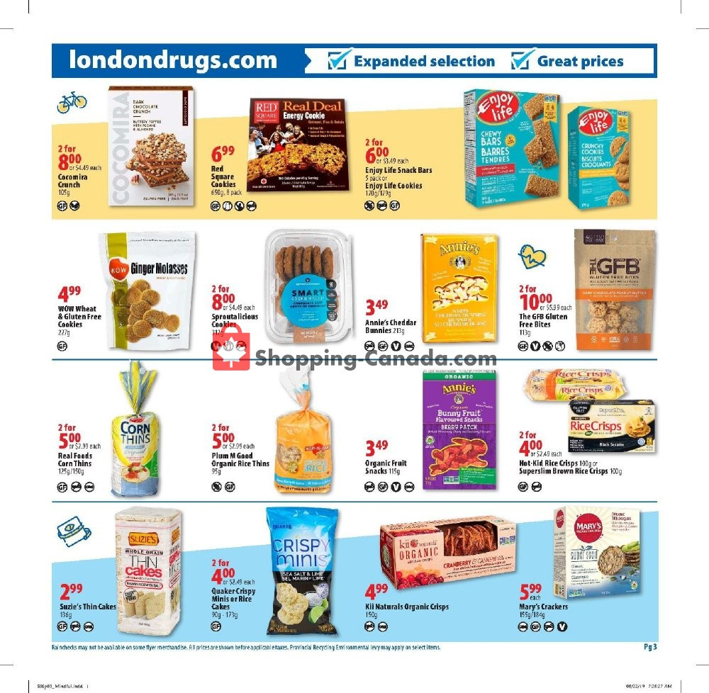 Flyer London Drugs Canada - from Friday September 6, 2019 to Wednesday September 25, 2019