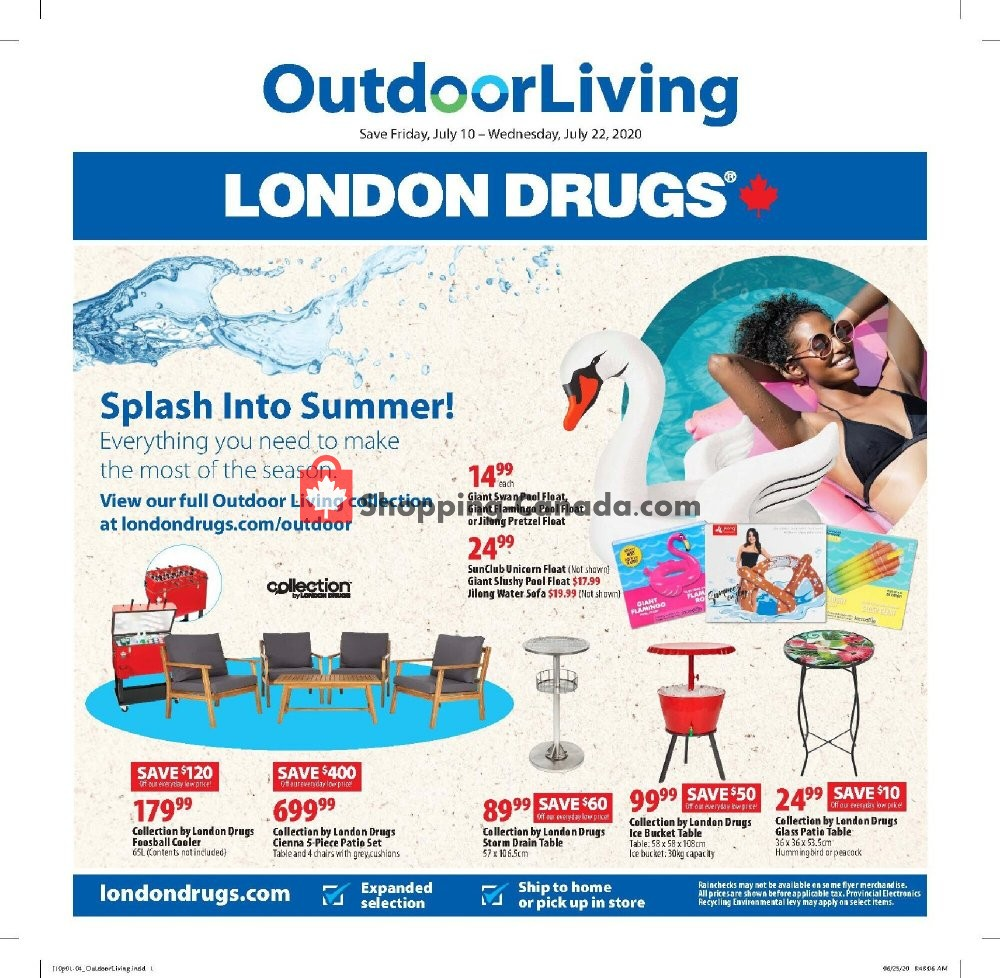 Flyer London Drugs Canada - from Friday July 10, 2020 to Wednesday July 22, 2020