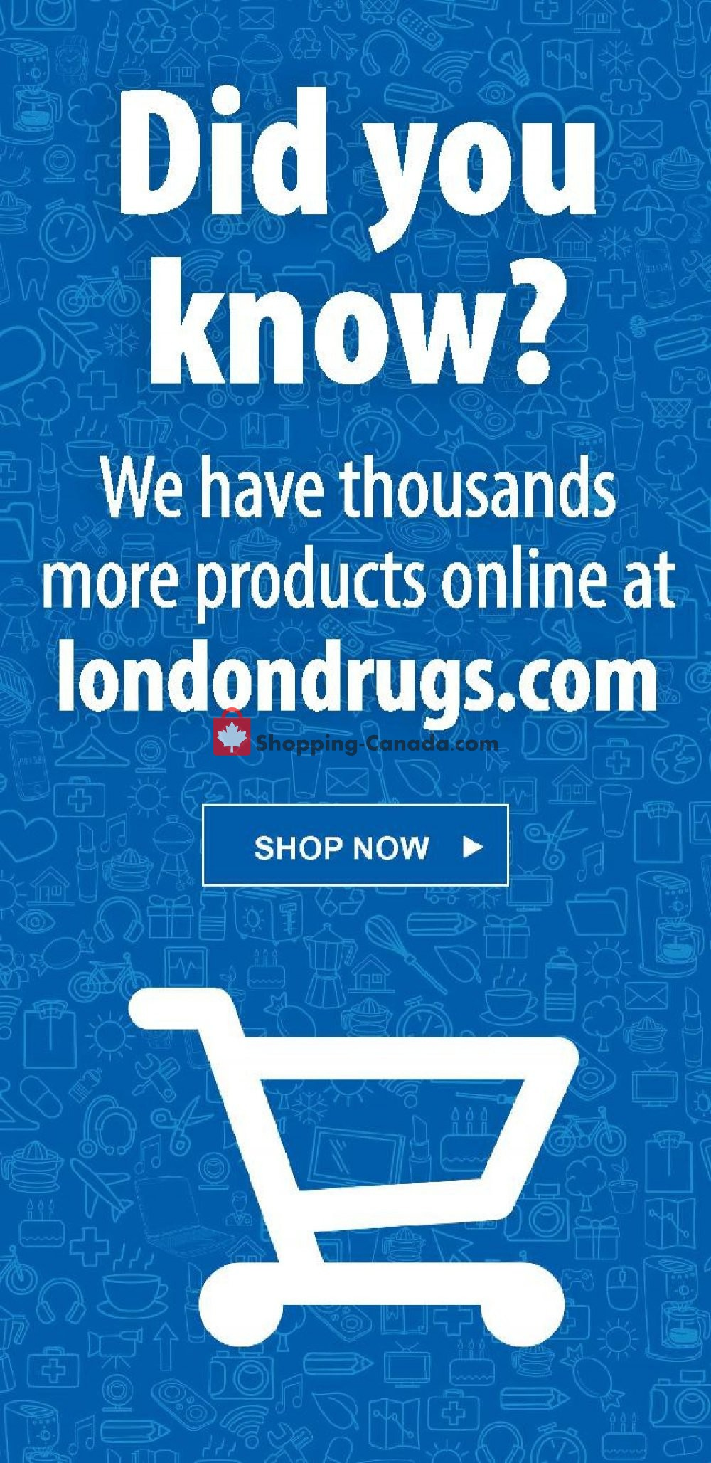 Flyer London Drugs Canada - from Thursday November 7, 2019 to Wednesday November 13, 2019