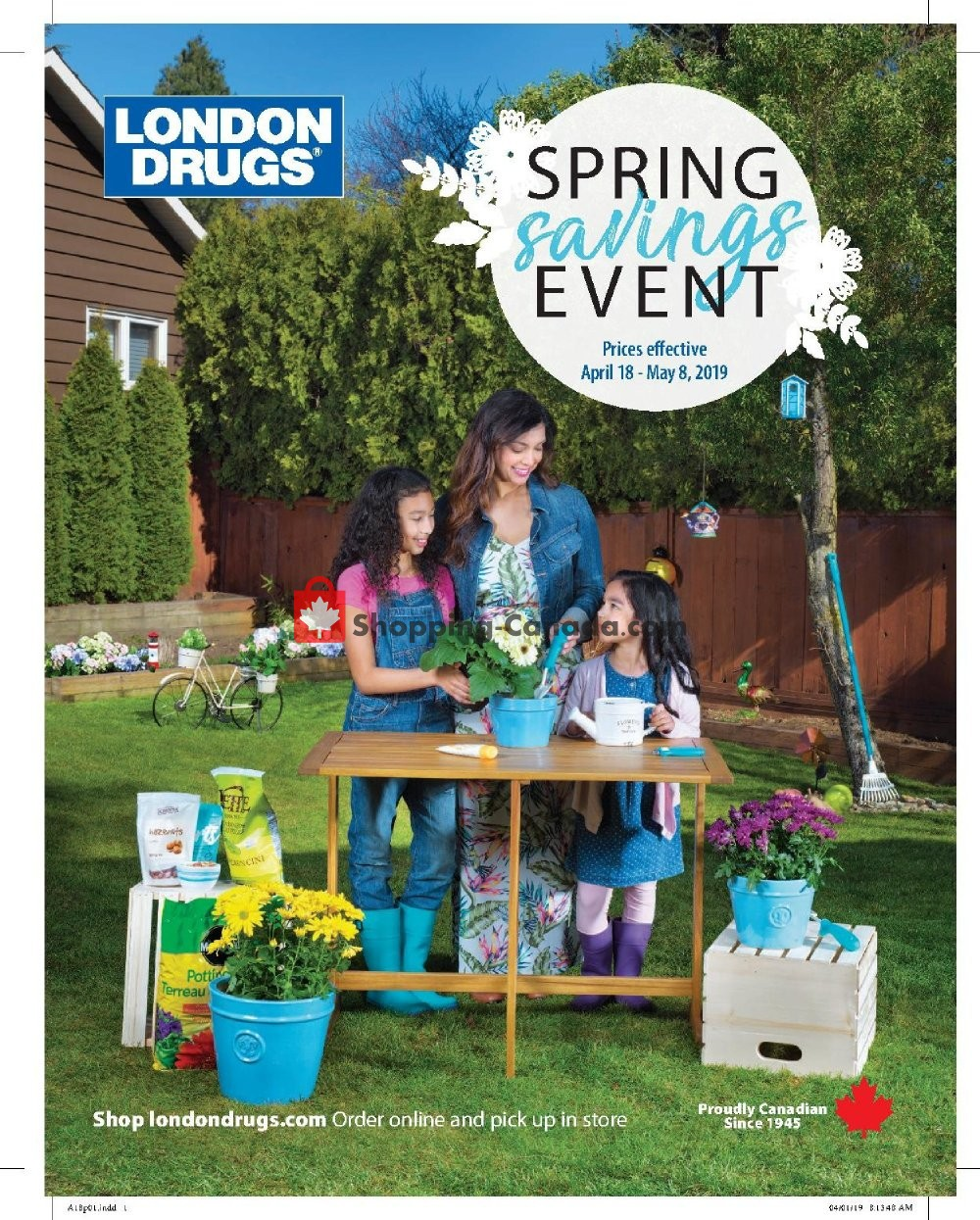 Flyer London Drugs Canada - from Thursday April 18, 2019 to Wednesday May 8, 2019