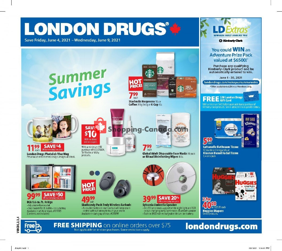 Flyer London Drugs Canada - from Friday June 4, 2021 to Wednesday June 9, 2021