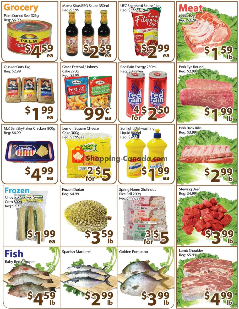 Flyer Long Fa Supermarket Canada - from Friday November 8, 2019 to Thursday November 14, 2019