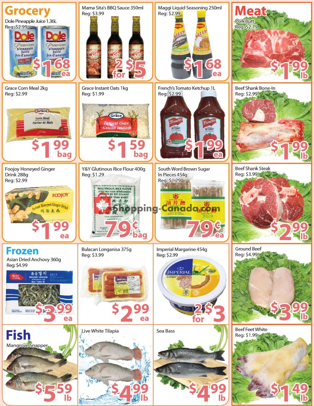 Flyer Long Fa Supermarket Canada - from Friday September 6, 2019 to Thursday September 12, 2019