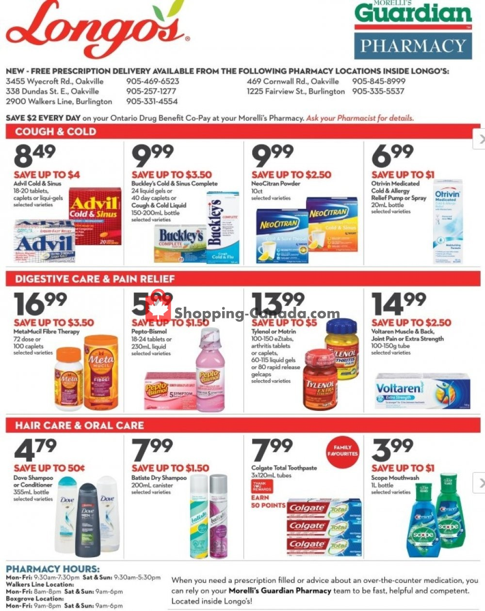 Flyer Longo's Canada - from Thursday February 6, 2020 to Wednesday March 4, 2020
