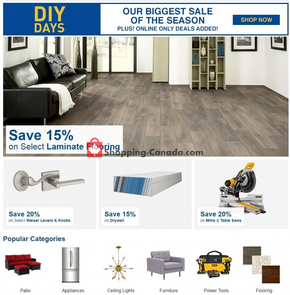 Flyer Lowe's Canada - from Thursday March 7, 2019 to Wednesday March 13, 2019