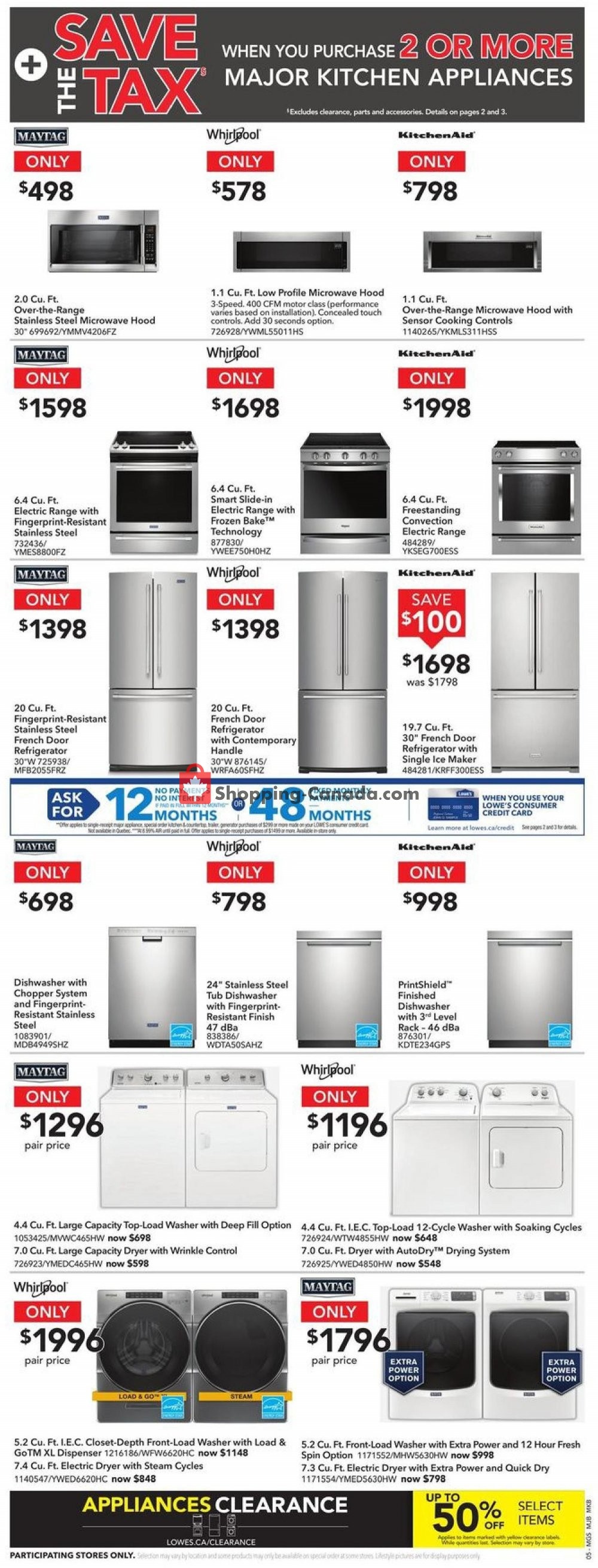 Flyer Lowe's Canada - from Thursday January 9, 2020 to Wednesday January 15, 2020