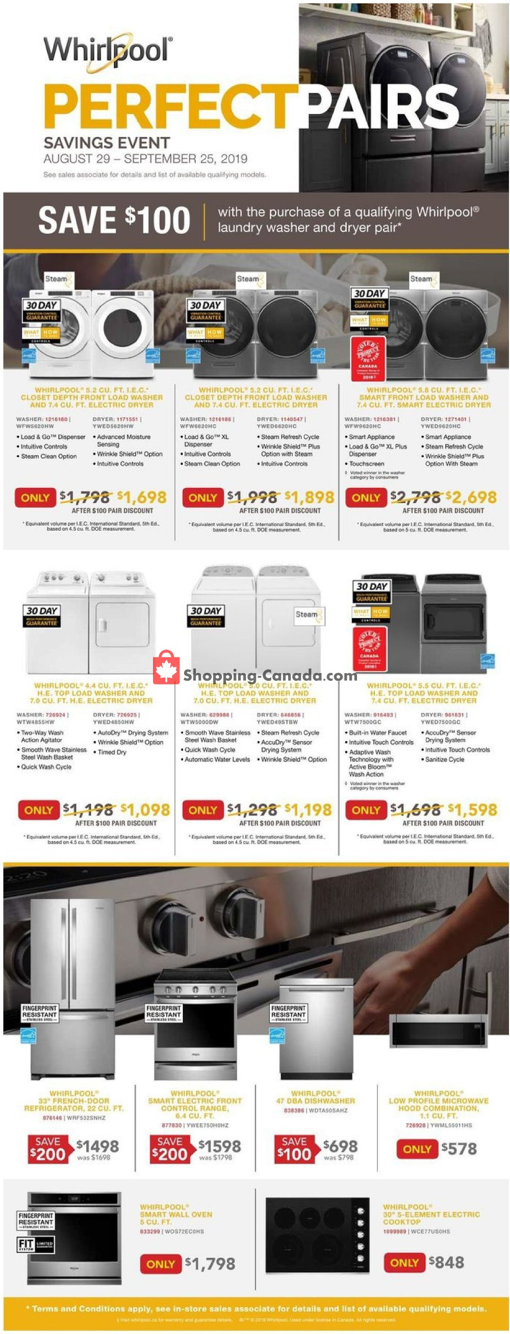 Flyer Lowe's Canada - from Thursday September 5, 2019 to Wednesday September 11, 2019