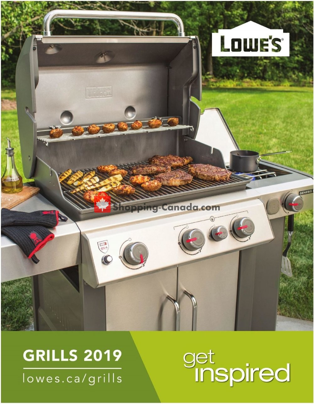 Flyer Lowe's Canada - from Wednesday May 8, 2019 to Tuesday October 1, 2019