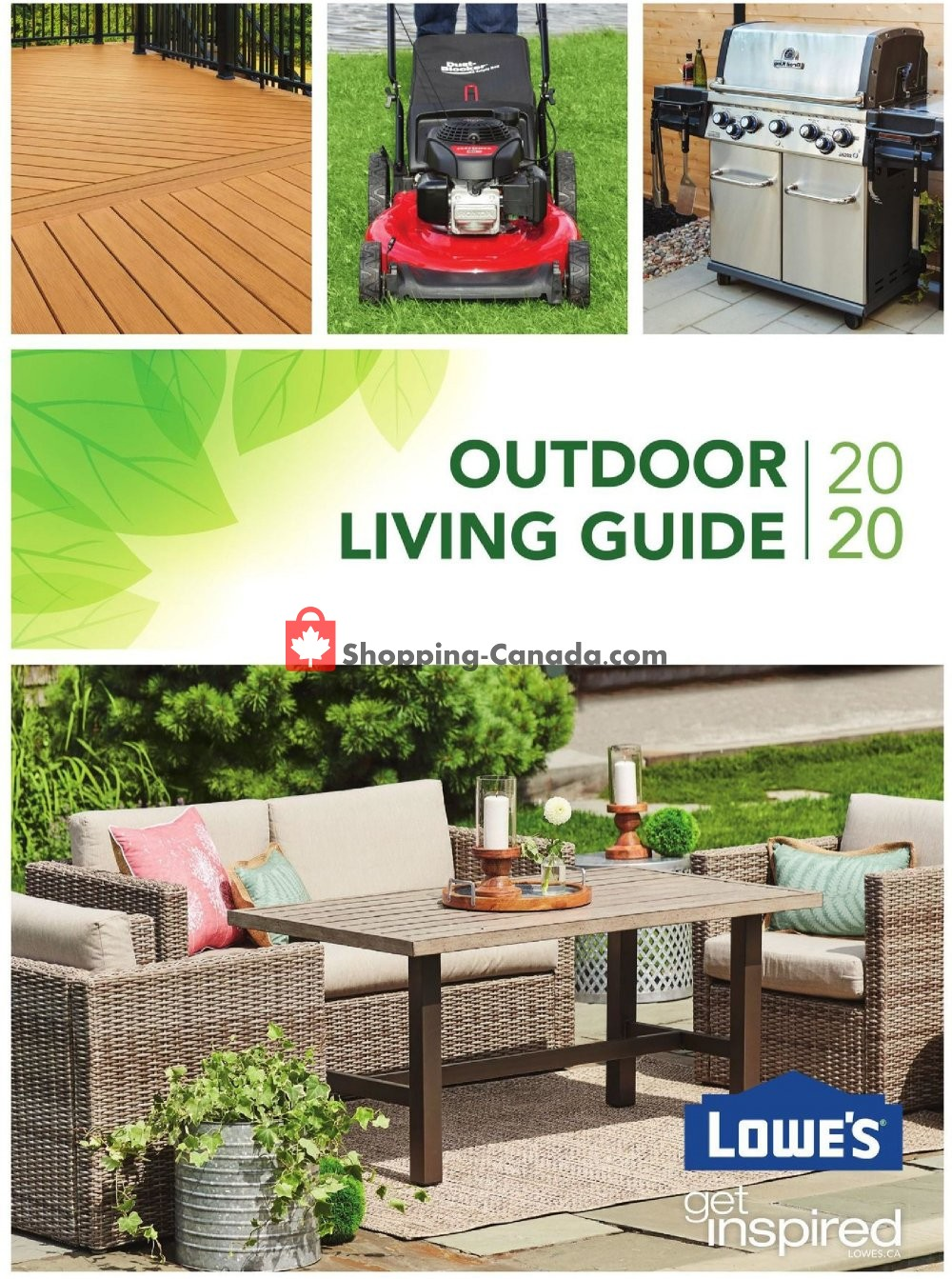 Lowe's Canada, flyer - (Outdoor Living Guide 2020 ... on Lowes Outdoor Living id=92262