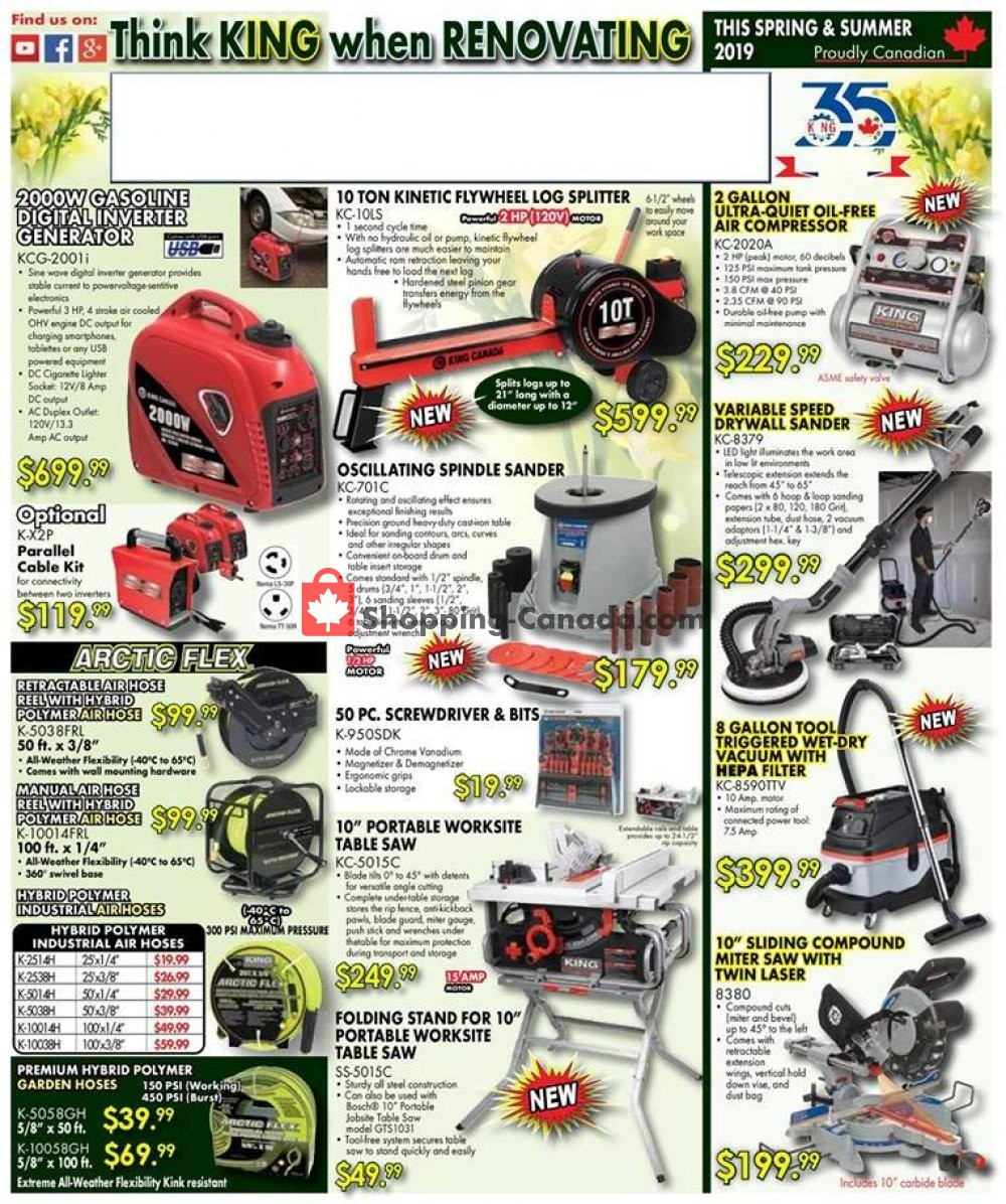 Flyer Lumber Mart Canada - from Thursday May 2, 2019 to Sunday June 30, 2019
