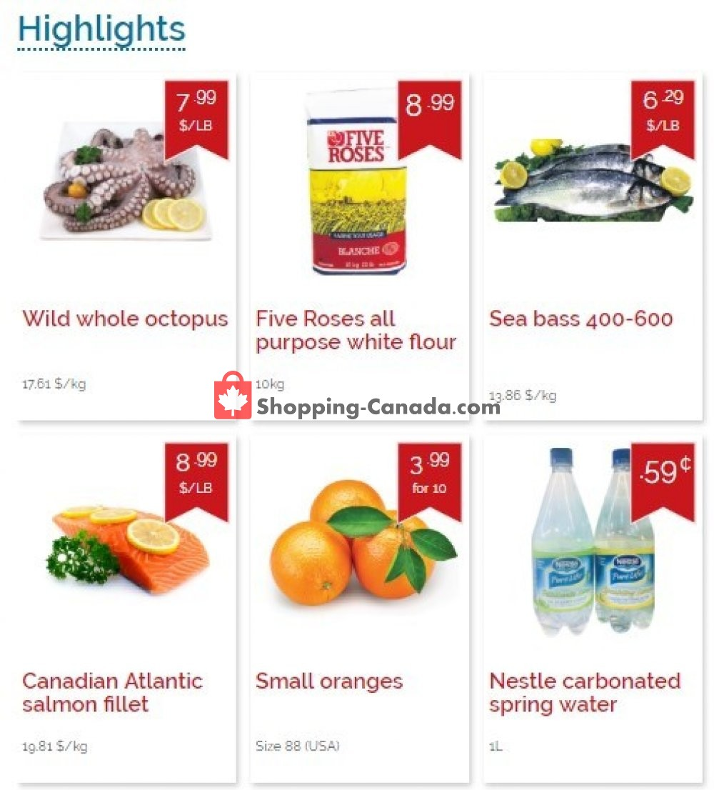 Flyer Marché Adonis Canada - from Thursday April 18, 2019 to Wednesday April 24, 2019