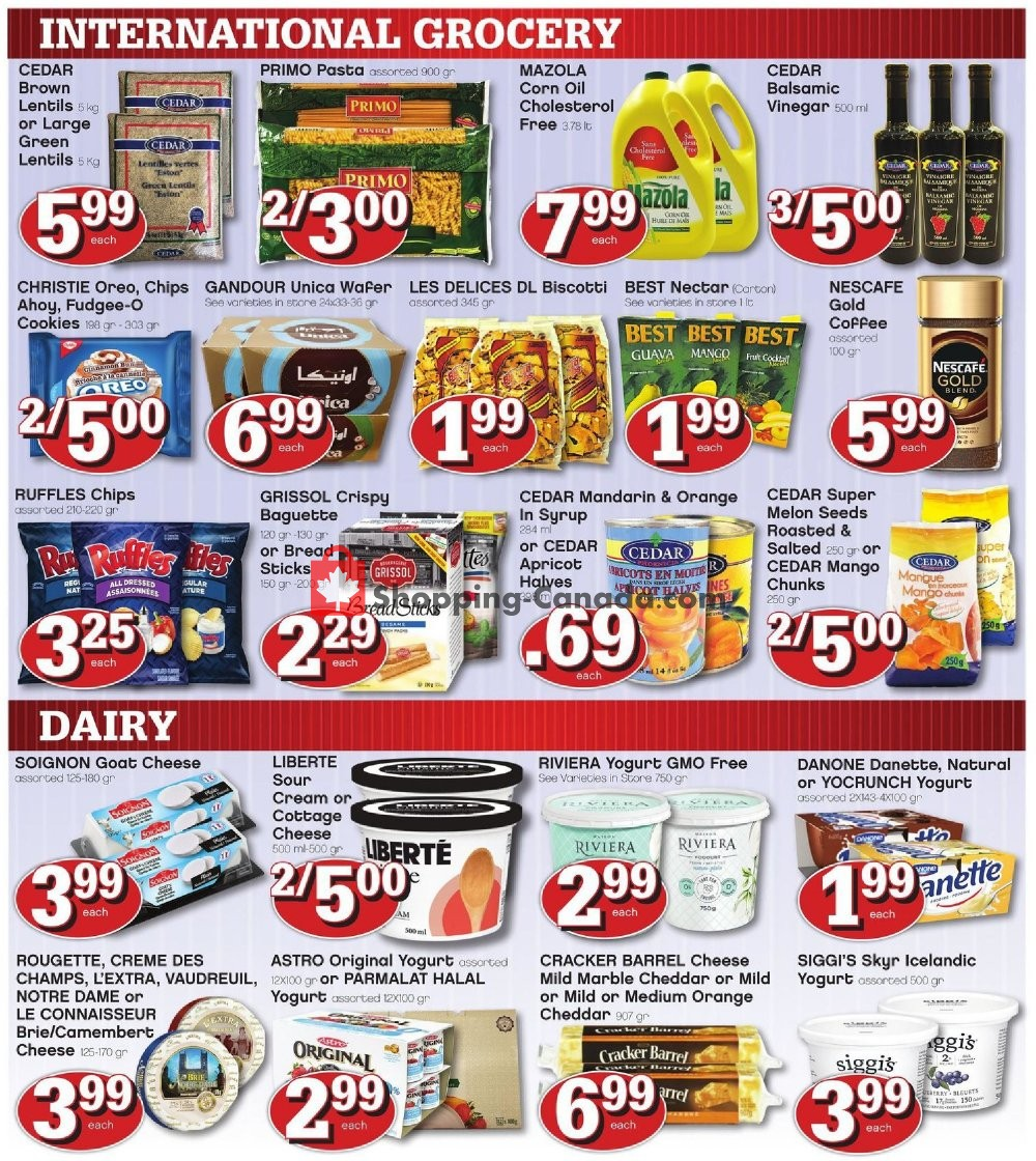 Flyer Marché Adonis Canada - from Thursday July 11, 2019 to Wednesday July 17, 2019