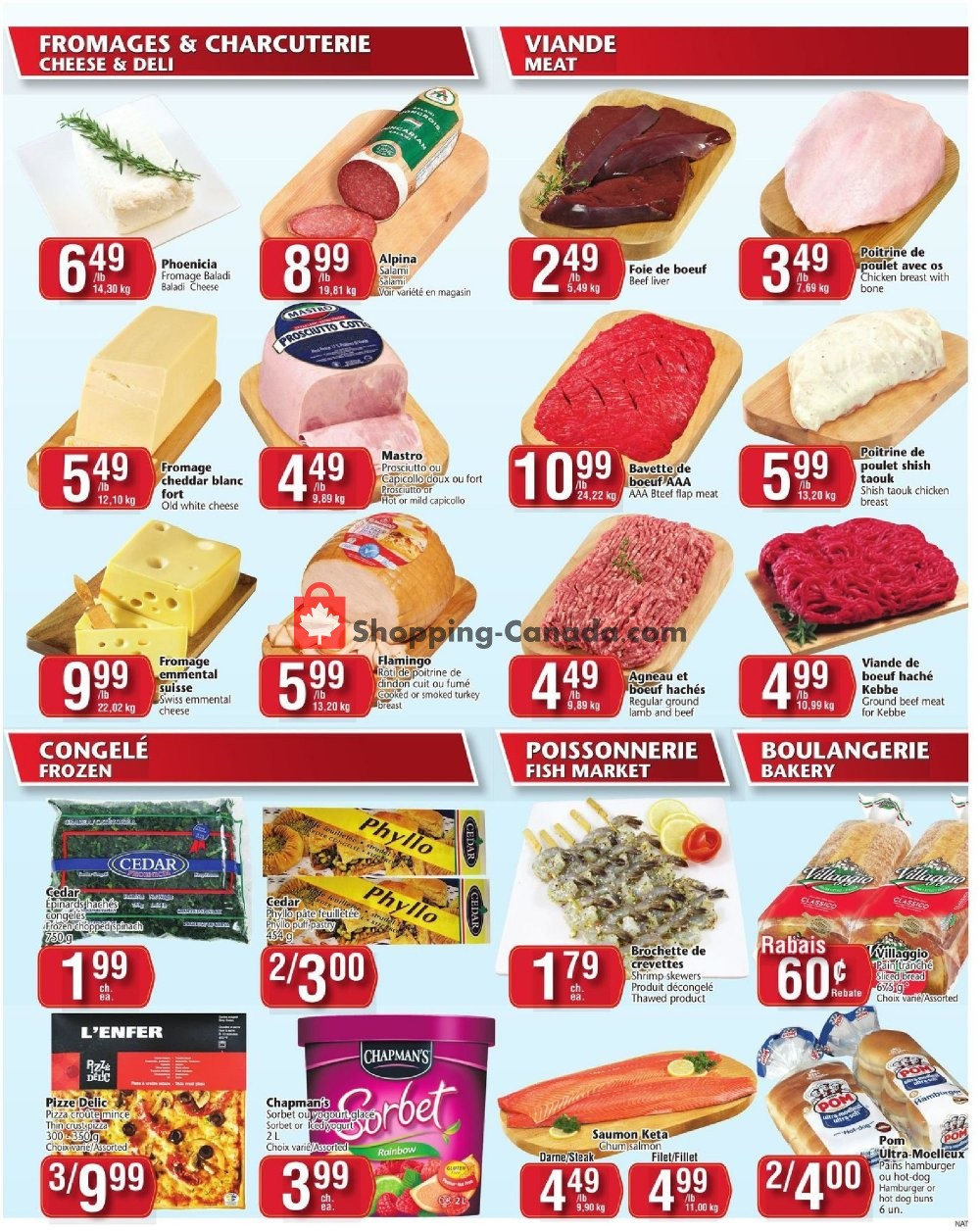 Flyer Marché Adonis Canada - from Thursday August 8, 2019 to Wednesday August 14, 2019