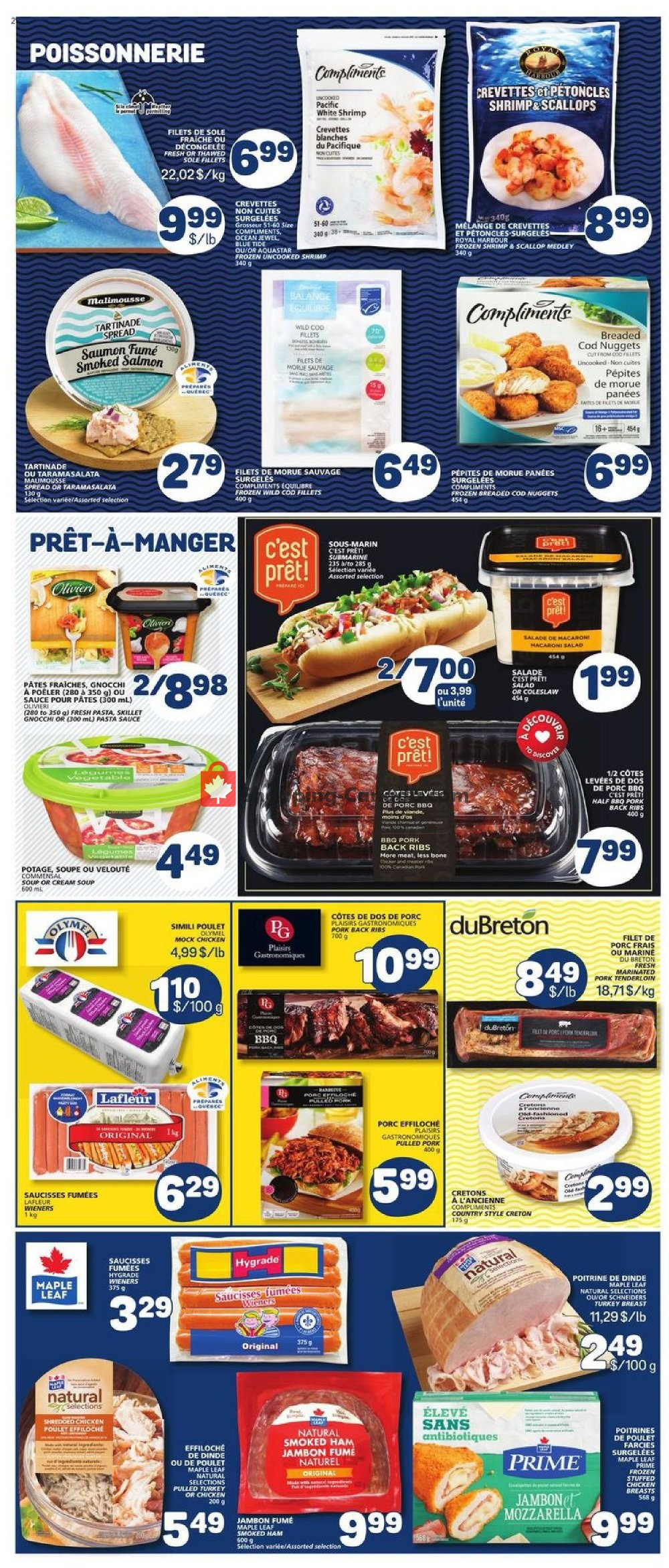 Flyer Marche Bonichoix Canada - from Thursday July 11, 2019 to Wednesday July 17, 2019