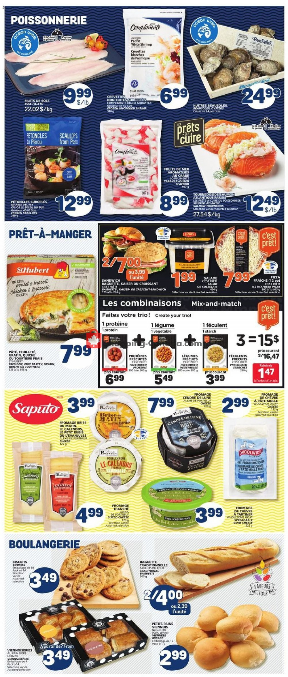 Flyer Marche Bonichoix Canada - from Thursday October 10, 2019 to Wednesday October 16, 2019