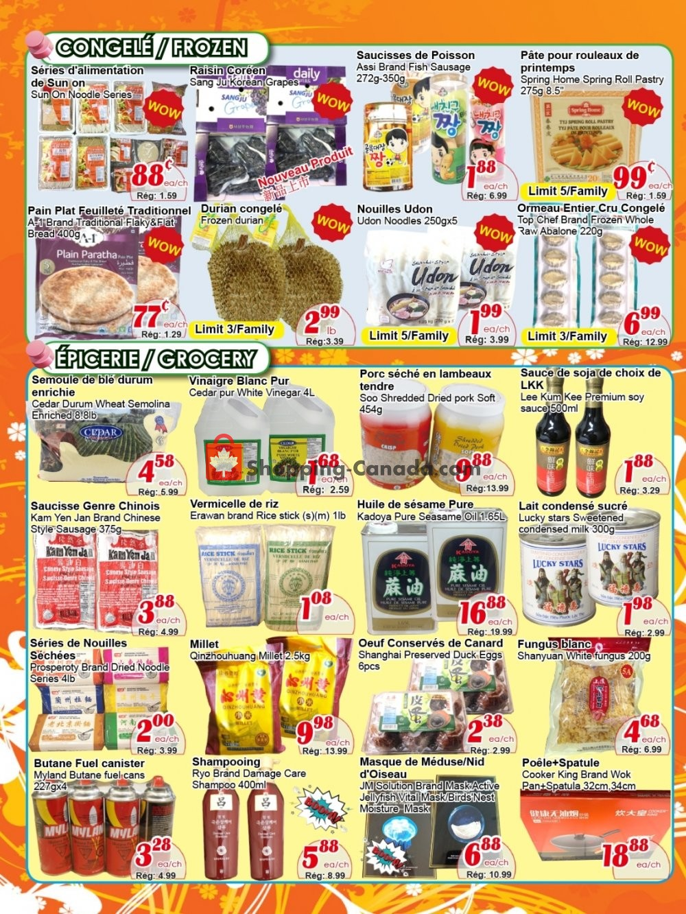 Flyer Marche C&T Canada - from Thursday October 10, 2019 to Wednesday October 16, 2019